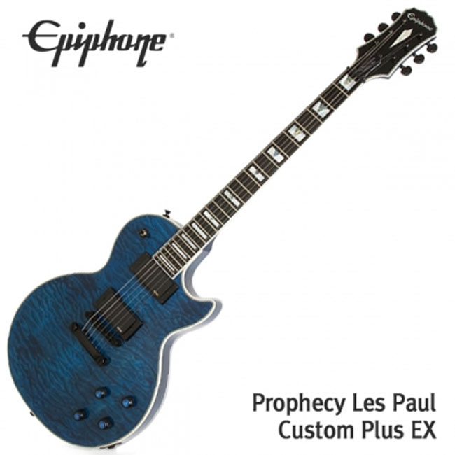 Epiphone Prophecy Les Paul Custom Plus EX 일렉기타 (ENCHMSBH1)