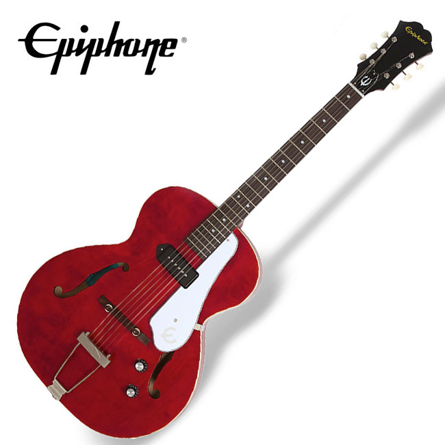 Epiphone Inspired by 1966 Century Aged Gloss Cherry (ETCNCHNH1) / 신형 P90 Pro 픽업