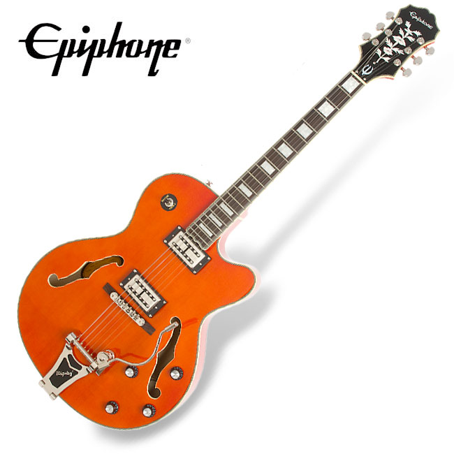 Epiphone Emperor Swingster - Orange (ETS2ORCB1)
