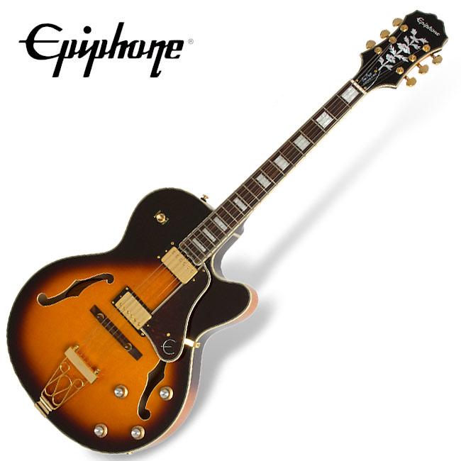 Epiphone Joe Pass Emperor-II PRO - Vintage Sunburst (ETEPVSGH1)