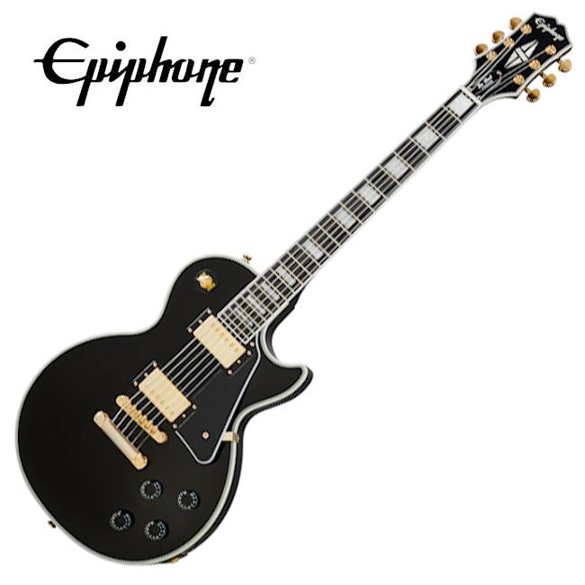 [2020 Inspired By Gibson]<br>Epiphone Les Paul Custom - Ebony / 에피폰 레스폴 커스텀 (EILCEBGH1)