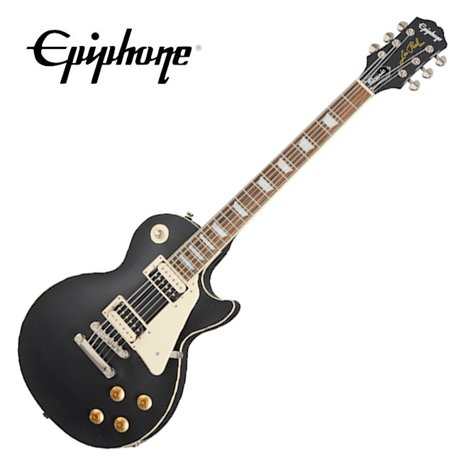 [2020 Inspired By Gibson]<br>Epiphone Les Paul Classic Worn - Worn Ebony  / 에피폰 레스폴 클래식 (ENLPCWEBNH1)