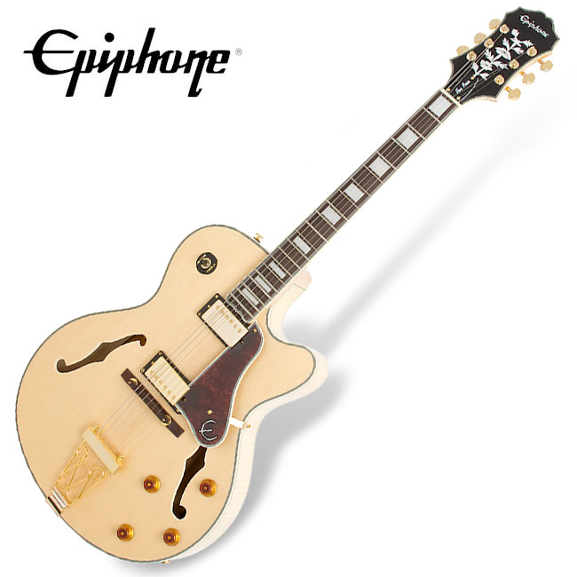 Epiphone Joe Pass EMPEROR II - Natural (ETE2NAGH1)