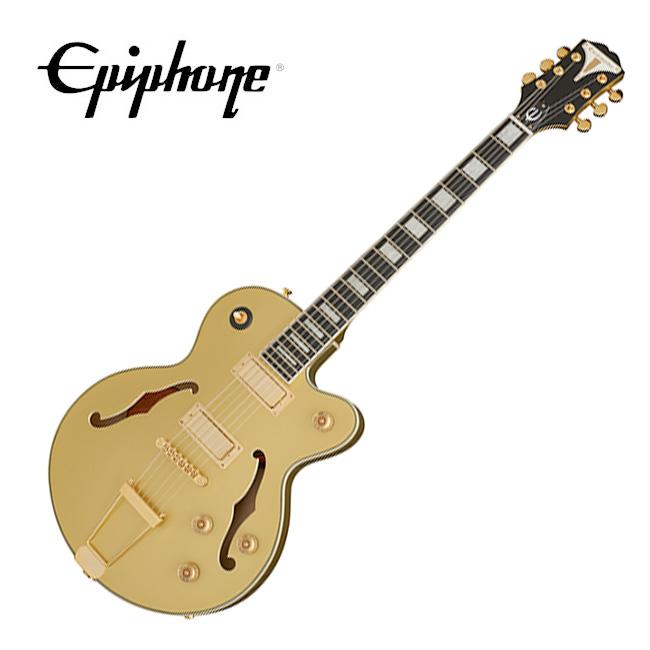 [2020 Inspired By Gibson] <br>Epiphone Uptown Kat ES - Topaz Gold Metallic / 에피폰 업타운 캣 ES  (ETUETGMGH1)