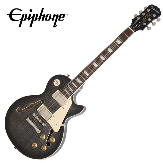Epiphone Les Paul ES PRO - Trans Black (ENESTBNH3)