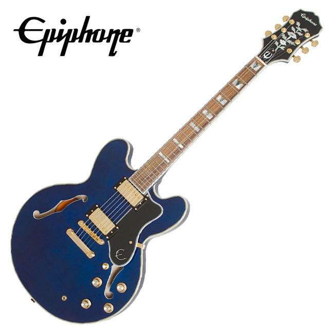 Epiphone Sheraton-II PRO - Midnight Sapphire (ETSPMSGH1)