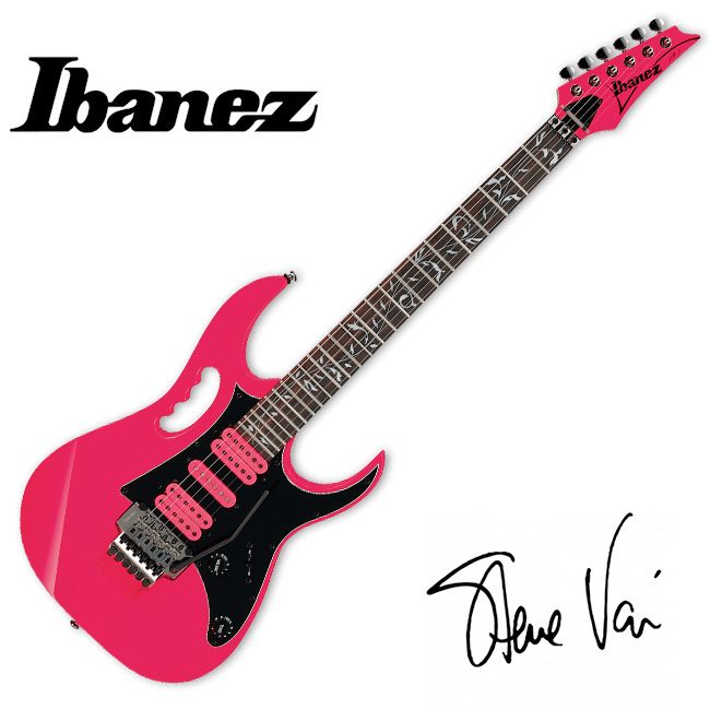Ibanez Steve Vai Signature JEMJRSP (PINK)
