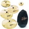 Zildjian A Custom Bonus Cymbal Pack (18 Crash+10 splash+Bag)