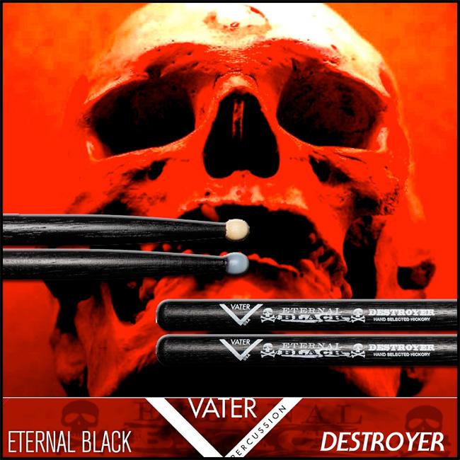 Vater - Eternal Black Destroyer Wood Tip (VHEBDW)