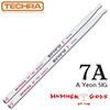 Techra Pairs HAMMER OF THE GODS Sticks - 7A / 카본 헤머 스틱 (아연 시그네쳐)