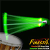 Firestix - LED 드럼스틱 Screamin Green (FX12GR)