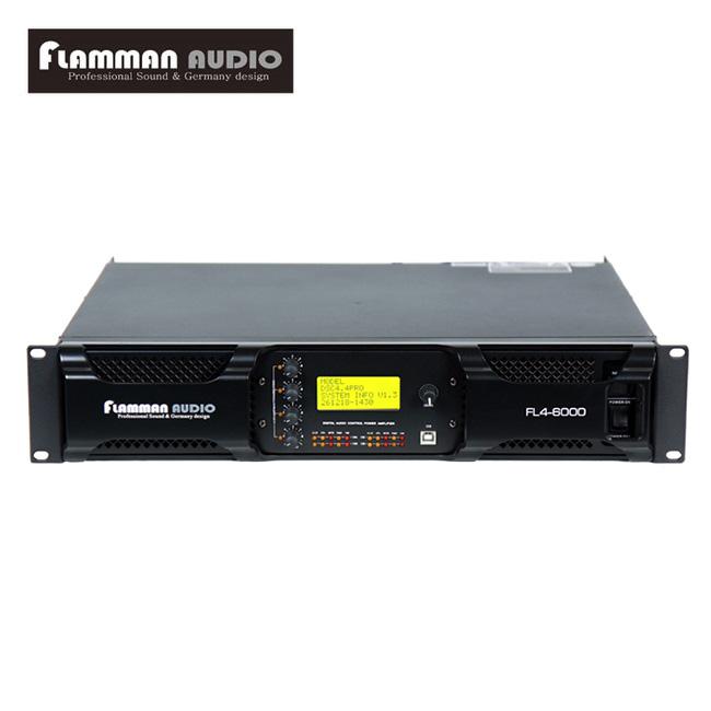 Flamman Audio - FL6000 / 플라만 4채널 파워앰프 (독일산 DSP 내장)