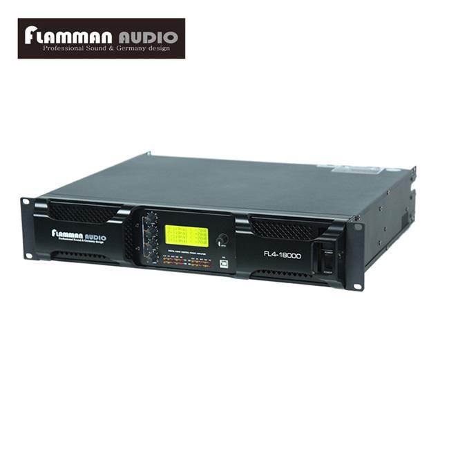 Flamman Audio - FL18000 / 플라만 4채널 파워앰프 (독일산 DSP 내장)