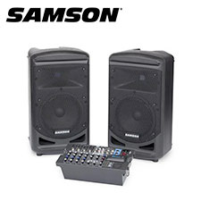 <font color=#262626>Samson XP800 포터블 PA 스피커</font>
