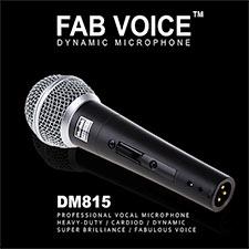 <font color=#262626>Muztek FAB VOICE Dynamic Microphone / with 5m cable (DM815)</font>