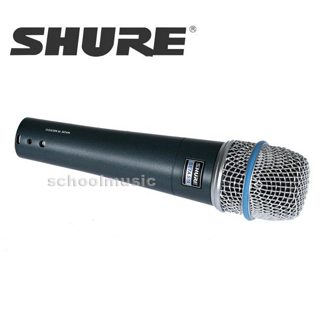 SHURE BETA57A / 슈어 마이크 BETA57A 보컬및 악기용 다이내믹, 초지향성
