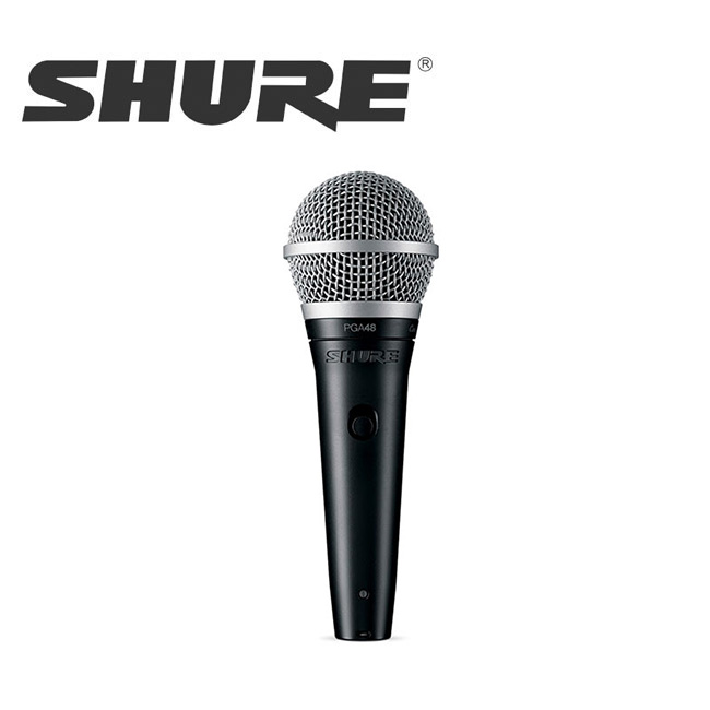 SHURE PGA48-LC / 슈어 마이크 PGA48-LC 다이내믹 보컬 마이크