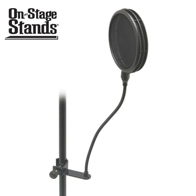 On Stage Stands 듀얼 팝필터(구즈넥,조임쇠 포함)(ASFSS6GB)
