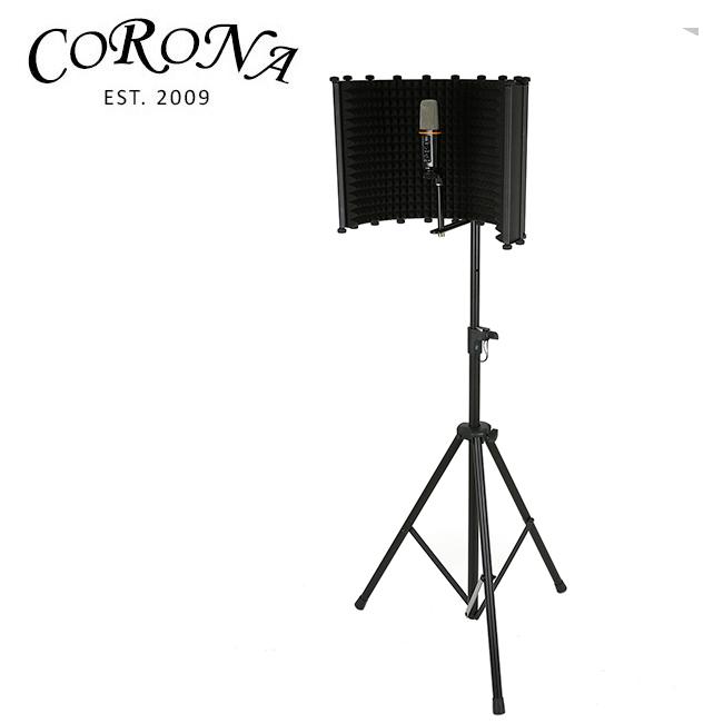 Corona Mic Isolation (Big) / 리플렉션 필터 전용스탠드포함 (MS-025)