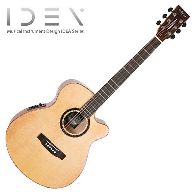 Corona IDEA BFM-200CE / 코로나 이데아 탑솔리드 어쿠스틱 기타