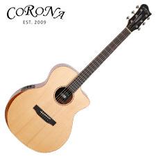<font color=#262626>Corona ABG-210CE / 탑솔리드 그랜드 오디토리엄 베벨 컷 통기타 (Fishman Presys)</font>