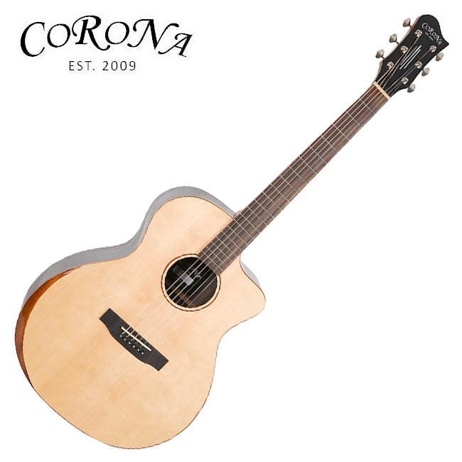 Corona ABG-310C / 탑솔리드 그랜드 오디토리엄 베벨 컷 통기타