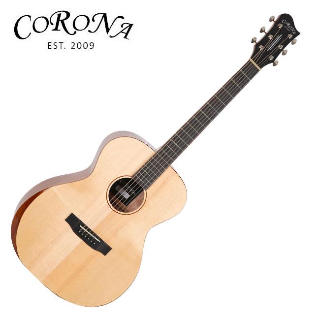Corona ABF-200 / 탑솔리드 포크바디 베벨 컷 통기타
