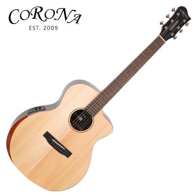 Corona ABG-310CE / 탑솔리드 그랜드 오디토리엄 베벨 컷 통기타 (Fishman Presys)