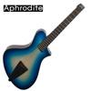 Corona Aphrodite APN-350HSEQ Blue Burst 아프로디테 헤드리스 탑솔리드 미니통기타