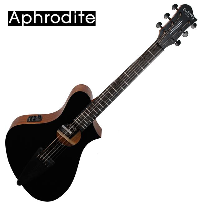 Corona Aphrodite APS-100EQ BK 아프로디테 미니 통기타