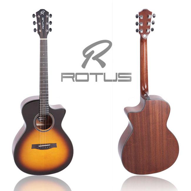 ROTUS FC-100 VS / 로터스 포크, 컷어웨이 통기타