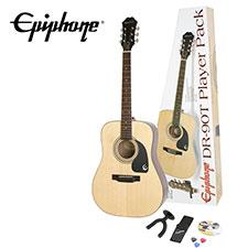 <font color=#262626>Epiphone DR-90T Acoustic Player Pack Natural(PPGR-EA9TNACH1) </font>