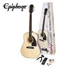 <font color=#262626>Epiphone AJ-220ST Solid Top Acoustic Player Pack(PPGR-EA2TSNACH1) </font>