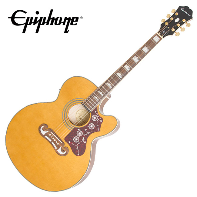 Epiphone EJ-200SCE Vintage Natural / 에피폰 통기타 (EEJ2VNGH1)