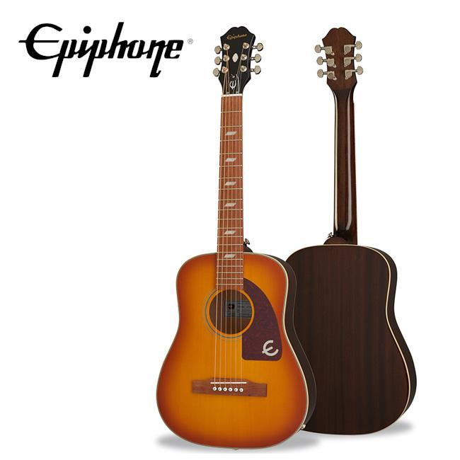 [깁슨티셔츠증정][2020 Inspired By Gibson] <br>Epiphone Lil Tex Travel Acoustic / 에피폰 릴 텍스 어쿠스틱 (EELTFCNH1)