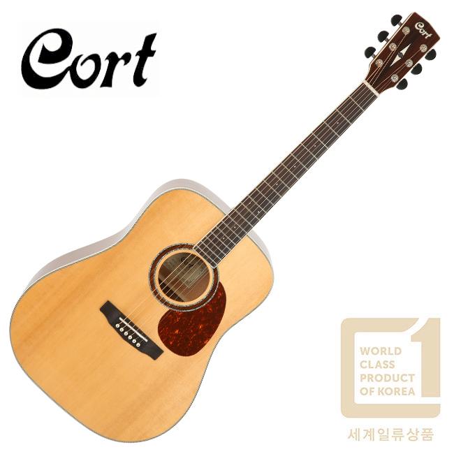 [해외수출형 글로벌모델]<br>Cort Earth200 / 콜트 통기타 NAT