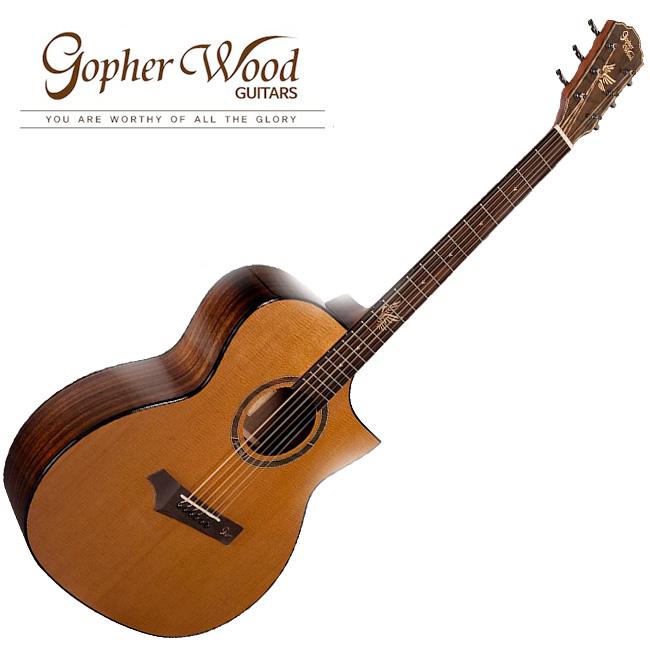 GopherWood - i320RCE NA(유광)<br>고퍼우드 어쿠스틱 기타