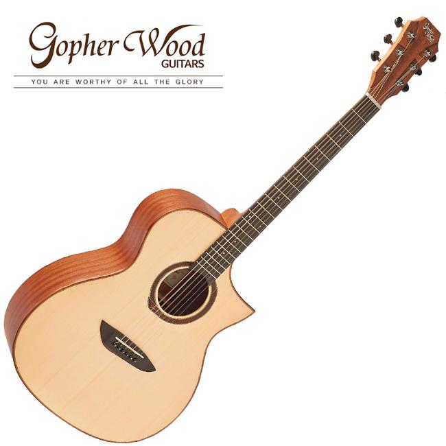 GopherWood - G220CE NS(무광)<br>고퍼우드 어쿠스틱 기타