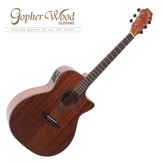 GopherWood - G130MCE<br>고퍼우드 어쿠스틱 기타