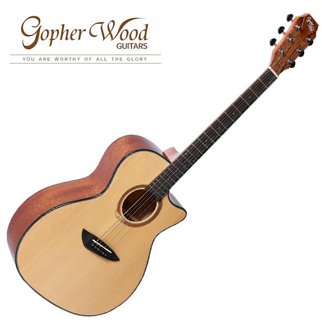 GopherWood - G230C SP NS(무광)<br>고퍼우드 어쿠스틱 기타