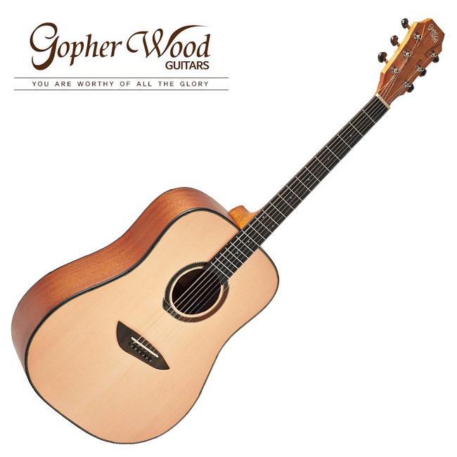 GopherWood - G100 NA(유광)<br>고퍼우드 어쿠스틱 기타