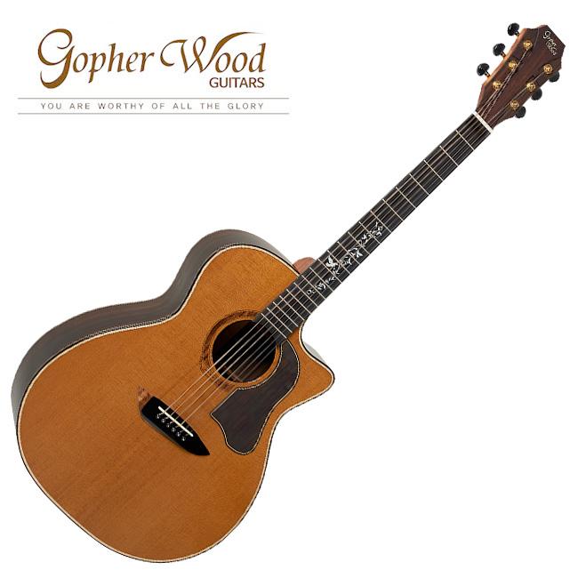 GopherWood - K830RCE<br>고퍼우드 어쿠스틱 기타