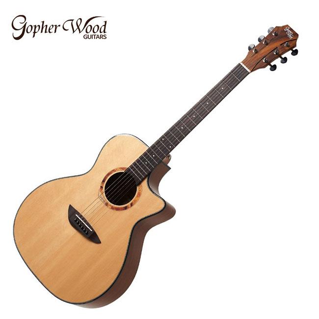 GopherWood - G330C AK<br>고퍼우드 어쿠스틱 기타