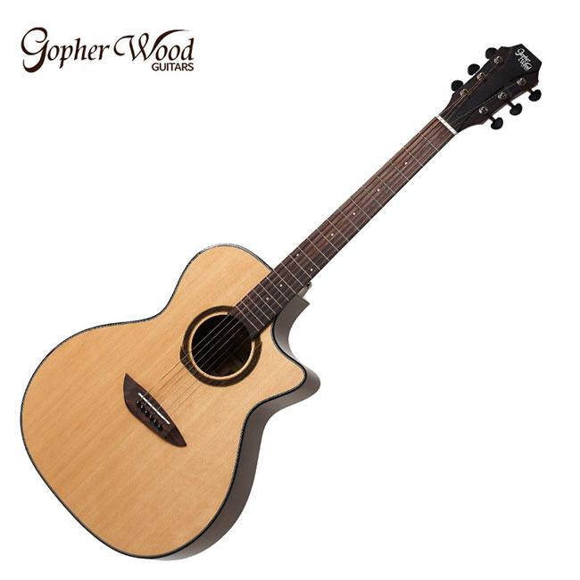 GopherWood - G330C<br>고퍼우드 어쿠스틱 기타