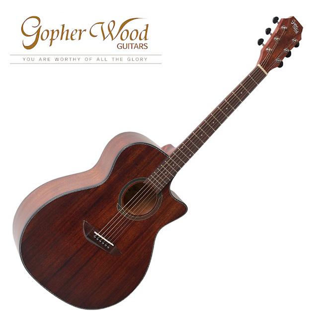 GopherWood - G130MC<br>고퍼우드 어쿠스틱 기타