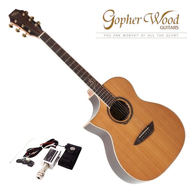 GopherWood - G620CE LH<br>고퍼우드 왼손용 어쿠스틱 기타