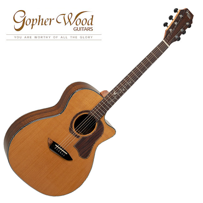 GopherWood - K330RCE <br>고퍼우드 어쿠스틱 기타