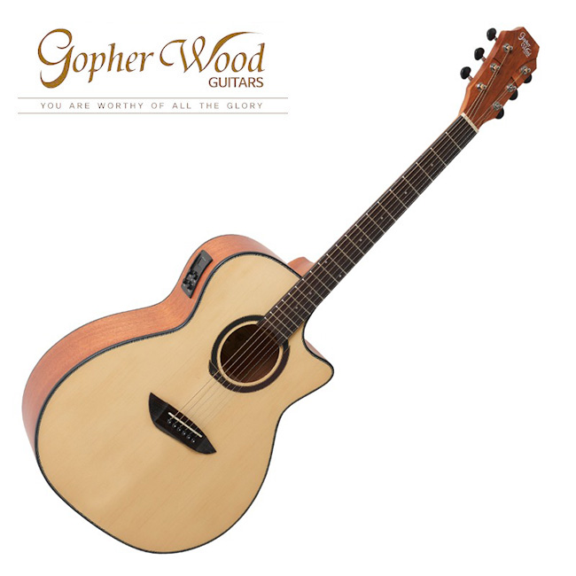 GopherWood - G130CE<br>고퍼우드 어쿠스틱 기타