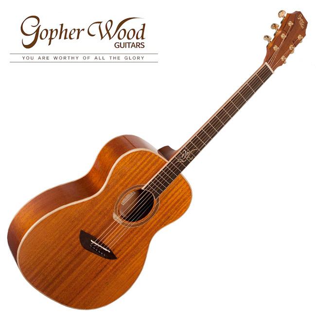GopherWood - G410 NA(유광)<br>고퍼우드 어쿠스틱 기타