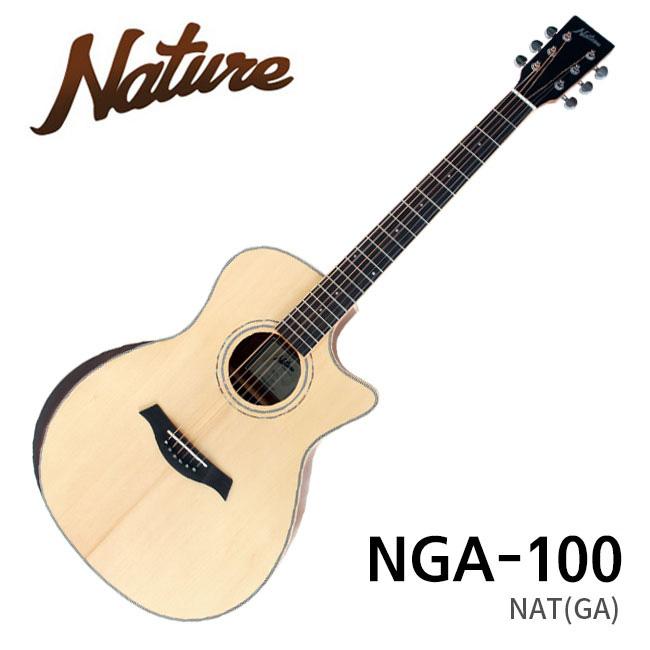 Nature NGA-100 / 네이처 탑솔리드 통기타